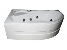 Ванна гидромассажная акриловая 150х100 см KO&PO 4038 L Левая