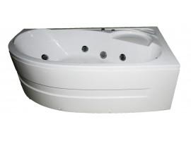 Ванна гидромассажная акриловая 150х100 см KO&PO 4038 R Правая
