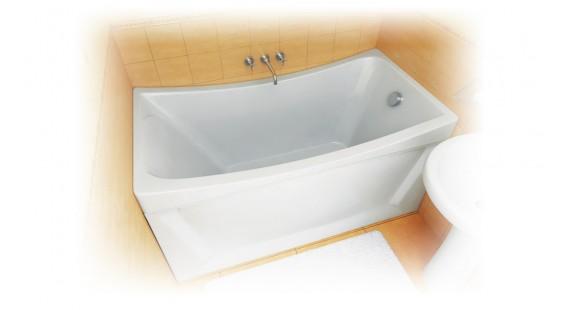 Ванна акриловая 130х70 Тритон Ирис
