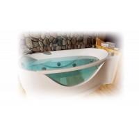 Ванна акриловая 170х96 Тритон Милена левая