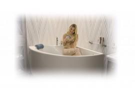 Ванна акриловая угловая 125х125 Тритон Синди